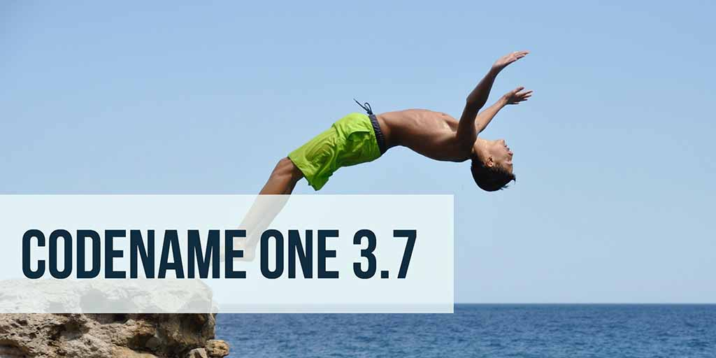 Codename One 3.7 is Live