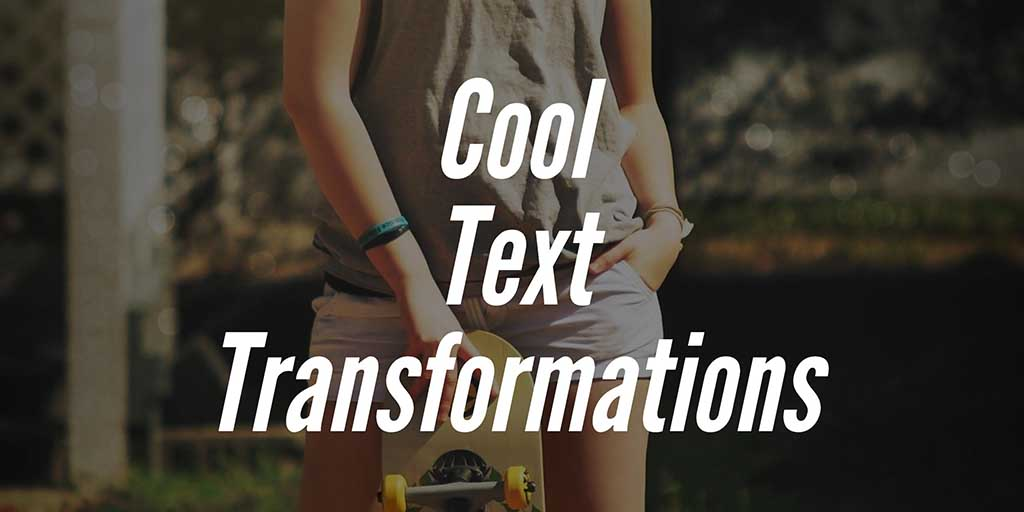 Cool Text Effects for Your Mobile App on iPhone (iOS), Android etc.