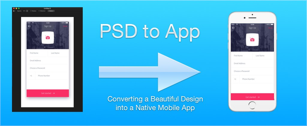 PSD to App Revisited